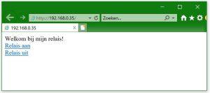 ESP8266 weberver